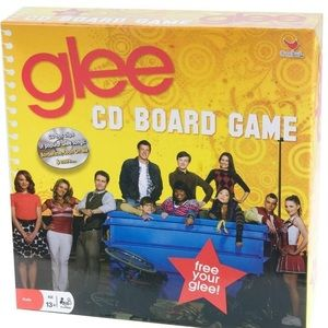 New in box (factory sealed) Glee CD board game